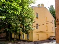 Адмиралтейский район, улица Курляндская, дом 19. многоквартирный дом