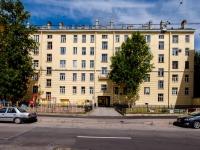 Адмиралтейский район, улица Курляндская, дом 25. многоквартирный дом