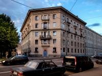 Адмиралтейский район, улица Курляндская, дом 29-31. многоквартирный дом