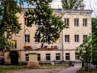 """Адмиралтейский район, улица Курляндская, дом 34. гостиница (отель) """"Глобус"""", хостел"""