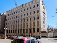 Адмиралтейский район, улица Курляндская, дом 10. офисное здание