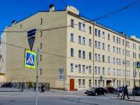 Адмиралтейский район, улица Курляндская, дом 11. многоквартирный дом