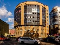 Адмиралтейский район, улица Шкапина, дом 13. многоквартирный дом