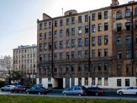 Адмиралтейский район, улица Шкапина, дом 22. неиспользуемое здание