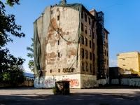 Адмиралтейский район, улица Шкапина, дом 24. неиспользуемое здание