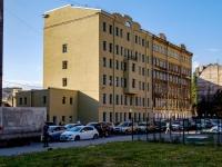Адмиралтейский район, улица Шкапина, дом 28. офисное здание