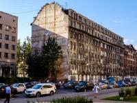 Адмиралтейский район, улица Шкапина, дом 36-40. многофункциональное здание