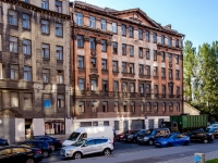 Адмиралтейский район, улица Шкапина, дом 42. неиспользуемое здание
