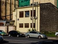 Адмиралтейский район, улица Шкапина, дом 43-45. офисное здание