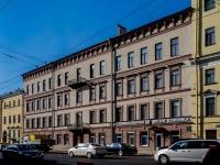 Василеостровский район, улица 1-я линия В.О., дом 36. многоквартирный дом
