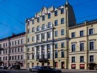 Василеостровский район, улица 1-я линия В.О., дом 38. многоквартирный дом