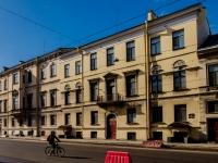 Василеостровский район, улица 1-я линия В.О., дом 6. многоквартирный дом