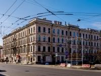 Василеостровский район, улица 1-я линия В.О., дом 18. многоквартирный дом