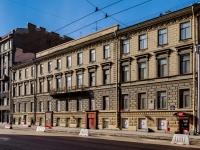 Василеостровский район, улица 1-я линия В.О., дом 28. многоквартирный дом