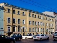 Василеостровский район, улица 1-я линия В.О., дом 34. многоквартирный дом