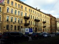 Василеостровский район, улица 2-я линия В.О., дом 11. многоквартирный дом