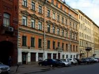 Василеостровский район, улица 2-я линия В.О., дом 21. многоквартирный дом