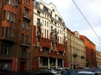 Василеостровский район, улица 2-я линия В.О., дом 27. многоквартирный дом