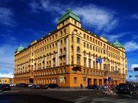 улица Набережная Макарова, дом 30. гостиница (отель) Courtyard by Marriott St. Petersburg Vasilievsky