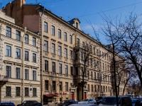 Василеостровский район, улица 4-я линия В.О., дом 5. многоквартирный дом