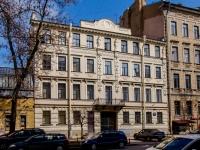 Василеостровский район, улица 4-я линия В.О., дом 7. многоквартирный дом