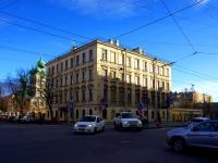 улица 7-я линия В.О., дом 70. гостиница (отель) СПБВЕРГАЗ