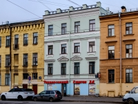 Василеостровский район, улица 7-я линия В.О., дом 8. многоквартирный дом
