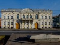 Василеостровский район, улица Университетская набережная, дом 13. офисное здание