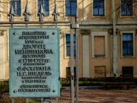 Василеостровский район, музей Дворец Меншикова, улица Университетская набережная, дом 15