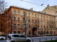 Василеостровский район, улица 19-я линия В.О., дом 6. многоквартирный дом