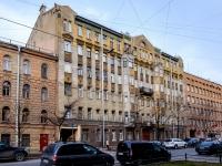 Василеостровский район, улица 19-я линия В.О., дом 8. многоквартирный дом