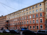 Василеостровский район, улица 19-я линия В.О., дом 12. многоквартирный дом