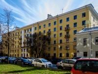 Василеостровский район, улица 19-я линия В.О., дом 18. многоквартирный дом