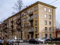 Василеостровский район, улица 20-я линия В.О., дом 3. многоквартирный дом