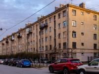 Василеостровский район, улица 21-я линия В.О., дом 16 к.1. многоквартирный дом