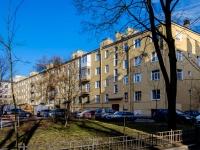 Василеостровский район, улица 21-я линия В.О., дом 16 к.2. многоквартирный дом