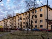 Василеостровский район, улица 21-я линия В.О., дом 16 к.5. многоквартирный дом