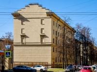 Василеостровский район, улица Шевченко, дом 2А. многоквартирный дом