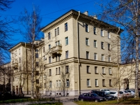 Василеостровский район, улица Шевченко, дом 4. многоквартирный дом