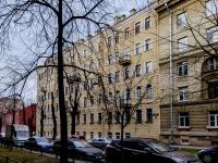 Василеостровский район, улица Шевченко, дом 16А. многоквартирный дом