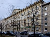 Василеостровский район, улица Шевченко, дом 18. многоквартирный дом