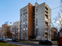 Василеостровский район, улица Шевченко, дом 19. многоквартирный дом