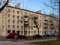 Василеостровский район, улица Шевченко, дом 22 к.1. многоквартирный дом
