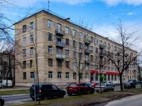 Василеостровский район, улица Шевченко, дом 24 к.1. многоквартирный дом