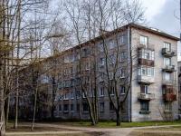 Василеостровский район, улица Шевченко, дом 24 к.2. многоквартирный дом
