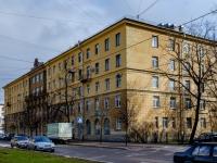 Василеостровский район, улица Шевченко, дом 27. многоквартирный дом