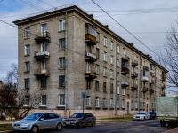 Василеостровский район, улица Шевченко, дом 28. многоквартирный дом