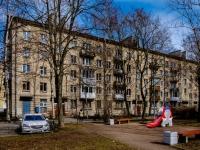 Василеостровский район, улица Шевченко, дом 32. многоквартирный дом