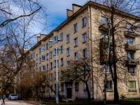 Василеостровский район, улица Шевченко, дом 34. многоквартирный дом