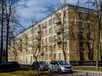 Василеостровский район, улица Шевченко, дом 37. многоквартирный дом